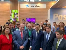 CaixaBank potencia el apoyo al sector olivarero y promueve su internacionalización en Expoliva 2019