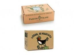 La controversia del envase de los huevos de Pazo de Vilane al de los de Corral de Monegros