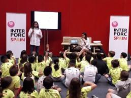400 niños realizan recetas saludables con cerdo en IFEMA
