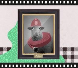 La desconocida historia de la oveja que soñaba con ser bombero. Prevención de incendios