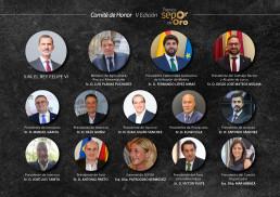 FORO AGRO GANADERO, Premios Nacionales Sepor Oro: La Casa Real, miembro del Comité de Honor